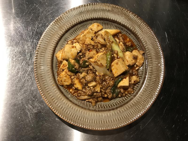 陳麻婆豆腐完成